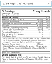 Cellucor C4 Ripped Explosive Pre-Workout 30Svg 180Gm Cherry Limeade