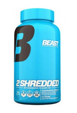 Beast Sports Nutrition	2 Shredded - 120 Capsules, 60 Servings