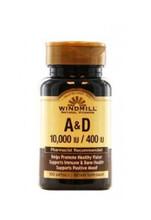 Windmill Vitamin A & D - 100 Softgels
