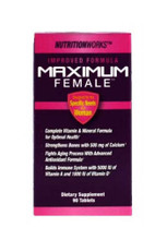 NutritionWorks Maximum Female Multi Vitamins - 90 Capsules