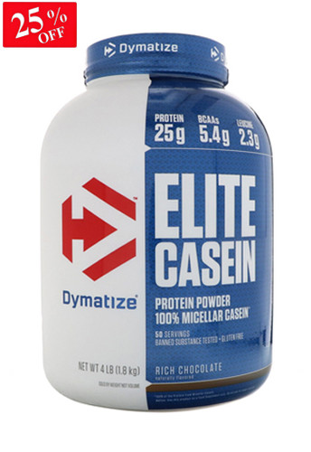 Dymatize Elite Casein - Rich Chocolate 4 Lbs