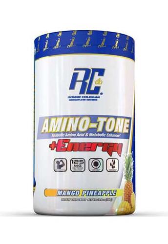 Ronnie Coleman Amino Tone Energy - Mango Pineapple, 30 Servings