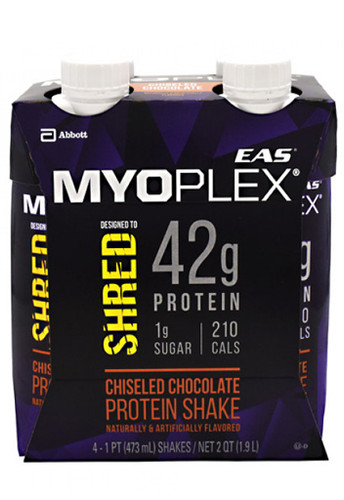 Myoplex Shred Rtd 473ml Chiseled Chocolate (4Packs of 473ml each)