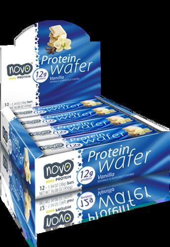 Novo Protein Wafer Bar 38Gm Vanilla [ 12 BAR ]