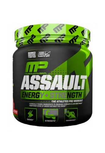 Musclepharm Assault Sport - Green Apple, 30 Servings