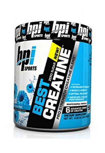 Bpi Sports Best Creatine - Icy Blue Raspberry, 50 Servings