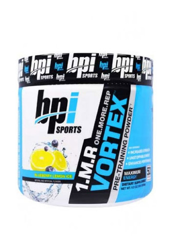 Bpi Sports 1 M R Vortex Pre Workout Powder - Blueberry Lemon Ice, 50 Servings