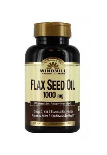 Windmill Flax Seed Oil 1000 Mg - 60 Softgels