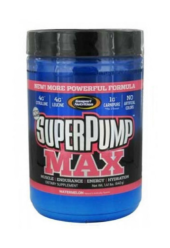 Gaspari Nutrition Superpump Max Pre-Workout Powder - Watermelon, 640 g