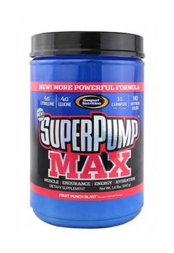 Gaspari Nutrition Superpump Max Pre-Workout Powder -Fruit Punch, 640 g