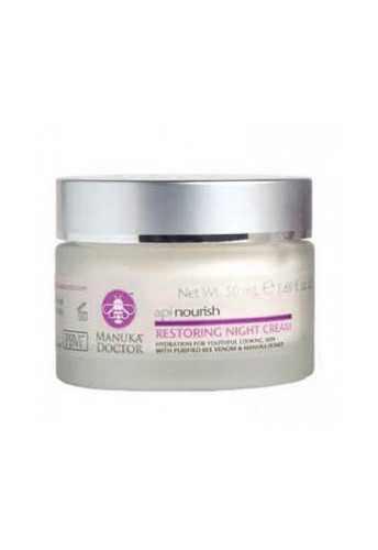 Manuka Doctor ApiNourish Restoring Night Cream 50 Ml