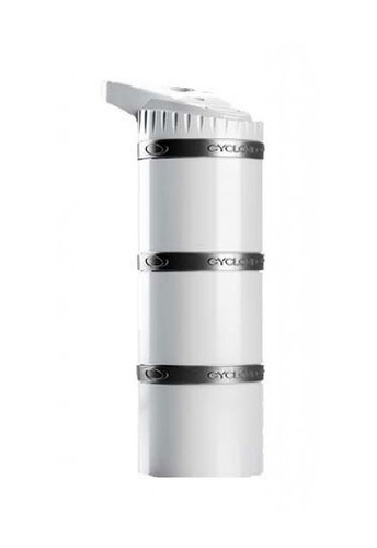Cyclone Cup Core - 3 Layered Dry Storage Bottle - White