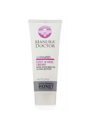 Manuka Doctor ApiNourish Foot & Heel Cream 75 Ml