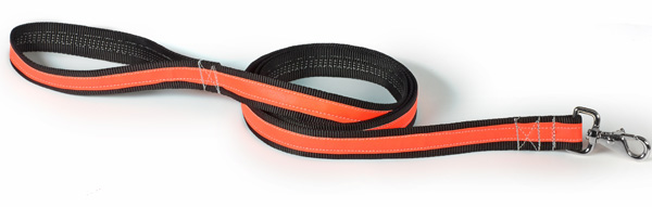 Chew Proof Dog Leash - Reflective - Tubular Nylon - Super Strength