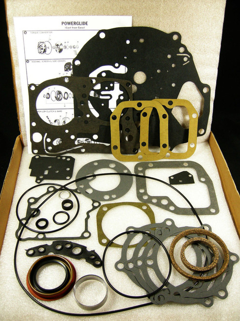 1950-1954 Powerglide Gasket & Seal External Sealing Kit Cast Iron