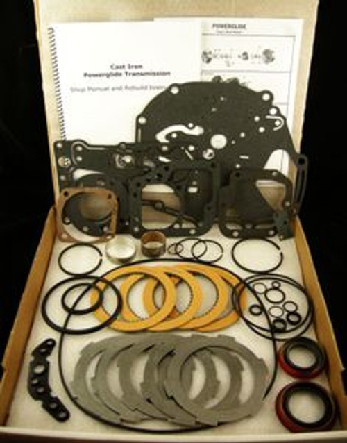 Cast Iron Powerglide Transmission Master Rebuild Parts Kit 1956 1957