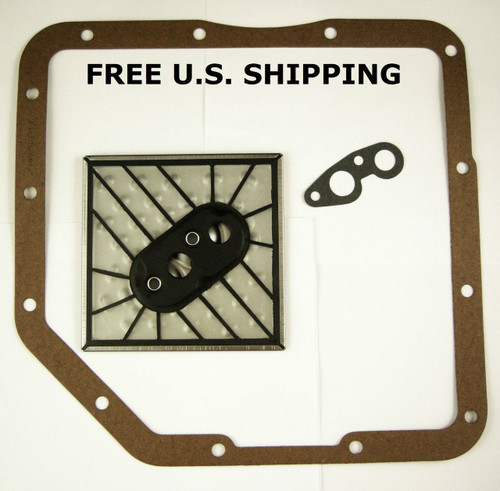 GM TH350 Pan Gasket Filter Service Kit Turbo 350 Transmission 1969-Up