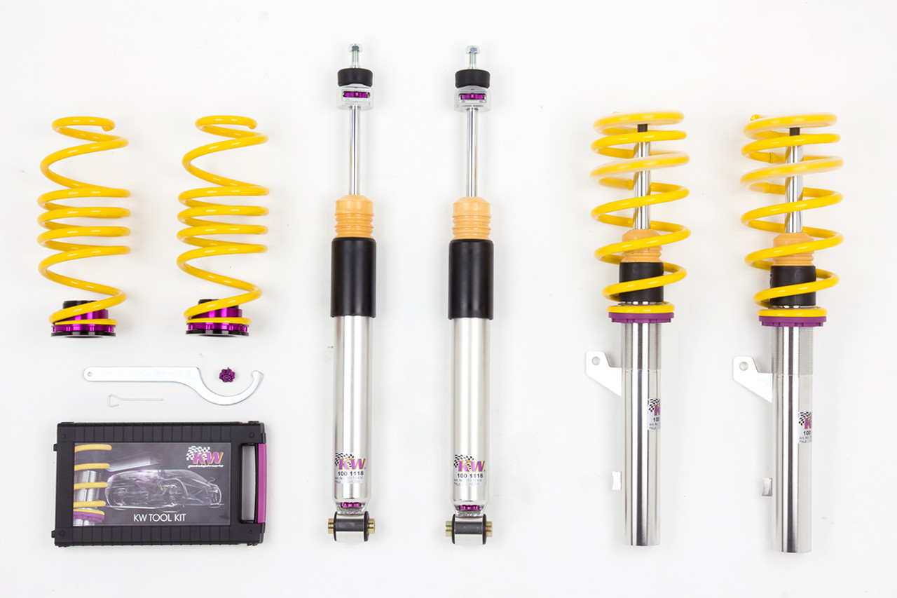 kw variant 3 coilovers audi tt 8n awesome gti. Black Bedroom Furniture Sets. Home Design Ideas
