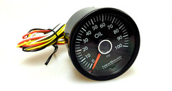 Newsouth VW White 100PSI Oil Pressure Gauge - Golf Mk6
