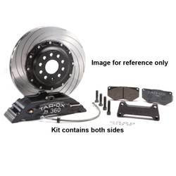 Tarox Front Big Brake Kit - Audi A3 (8P) All models excl 1.6 03 on - 360x26mm 2 piece