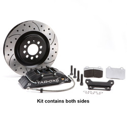 Tarox Front Big Brake Kit - Audi TT (8N) All models 98-06 - 323x28mm