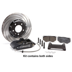 Tarox Front Big Brake Kit - VW Golf Mk4 1.8T GTI - 2.3 V5 - 4 Motion - R32 99-04 - 318x26mm 2 piece
