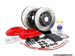 ECS Stage 3 Big Brake Kit - Drilled & Grooved - 332x32mm 1