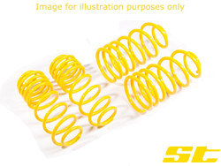 ST Suspension Lowering Springs - Skoda Citigo (AA)