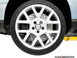 ECS Tuning - Front Cross-Drilled & Slotted 2-Piece Brake Discs