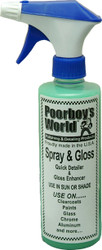 Poorboy's Spray and Gloss