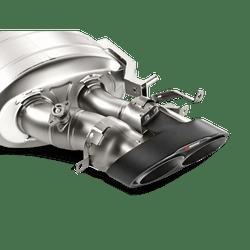 Akrapovic 'Evolution Line' Titanium Exhaust System - Audi RS7 (C7)