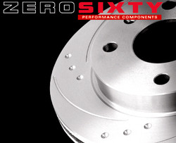 Zero Sixty Rear Brake Discs - Seat Cordoba (6L) (Priced Per Pair)