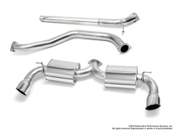 Neuspeed 70mm Stainless Steel Cat-Back Exhaust - Mk7 Golf GTI