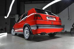 Milltek Classic Front Pipe Back System - Mk2 Golf GTI 8V