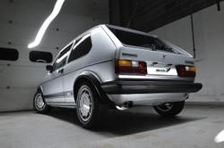 Milltek Classic Exhaust Options - Mk1 Golf GTI
