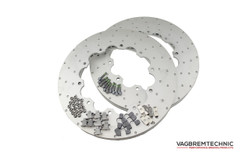 Vagbremtechnic Replacement Front Outer Rotors Only (No Bell) - Audi RS4 B7