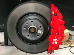 Vagbremtechnic Front Brake Kit - 6 Piston AP Racing Caliper - 380x36mm OE Discs - Ferodo DS2500