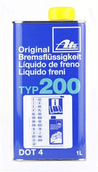 ATE TYP200 High Performance DOT4 Brake Fluid - 1 Ltr