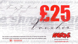 Awesome £25 Gift Voucher