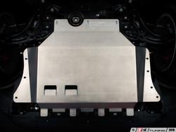 ECS Tuning Street Shield Aluminum Skid Plate Kit Audi A3 - S3 (8V)