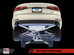 AWE Tuning Audi A4 B9 2.0T Track Edition Exhaust System