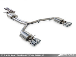 AWE Tuning Audi A7 (C7.5) 3.0TFSI Touring Edition Exhaust System