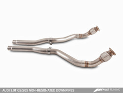AWE Tuning Audi Q5 3.0T Non-Resonated Downpipes