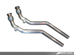 AWE Tuning S5 Coupe 4.2 Non-Resonated Downpipe Kit