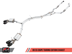 AWE Tuning Touring Edition Exhaust System - Audi S5 (B9) 3.0T