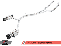 AWE Tuning Switchpath Exhaust System - Audi S5 (B9) 3.0T