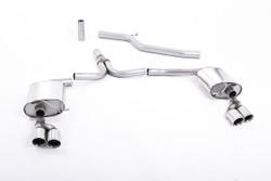 Milltek Exhaust for Audi A5 3.0TDI Quattro - Sportback