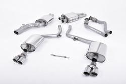 Milltek Cat-Back Exhaust - Audi S4 (B8)