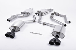 Milltek Cat-Back Exhaust - Audi S4 (B8.5)