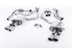 Milltek Cat-Back Exhaust - Audi S4 (B9) - Non-Sport Diff Cars
